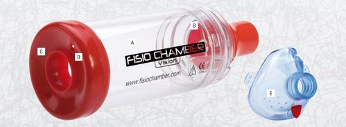 Fisio Chamber Vision – aide pour inhalation (Spacer)